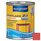 swingcolor 2in1 Buntlack (Feuerrot, 125 ml, Seidenmatt)