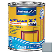 swingcolor 2in1 Buntlack (Silbergrau, 125 ml, Seidenmatt)