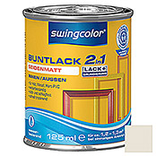 swingcolor 2in1 Buntlack (Cremeweiß, 125 ml, Seidenmatt)