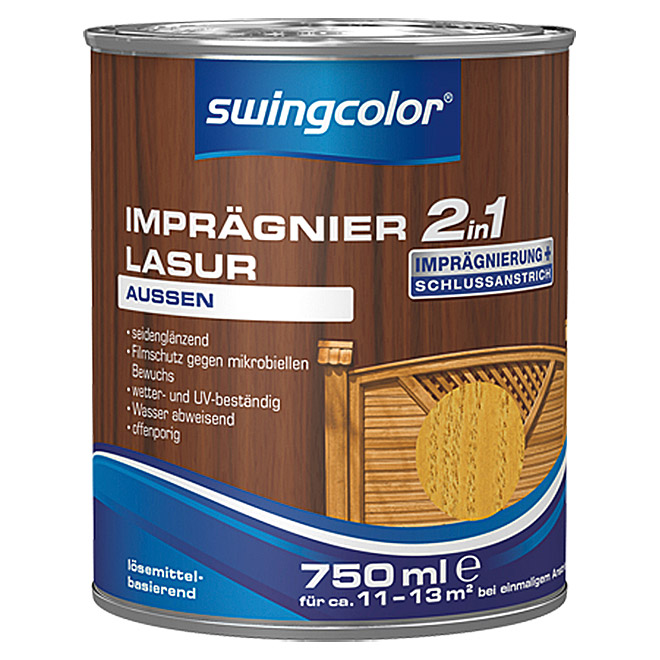 swingcolor 2in1 Imprägnierlasur  (Kiefer, 750 ml)