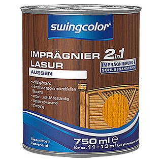 swingcolor 2in1 Imprägnierlasur  (Kirsche, 750 ml)