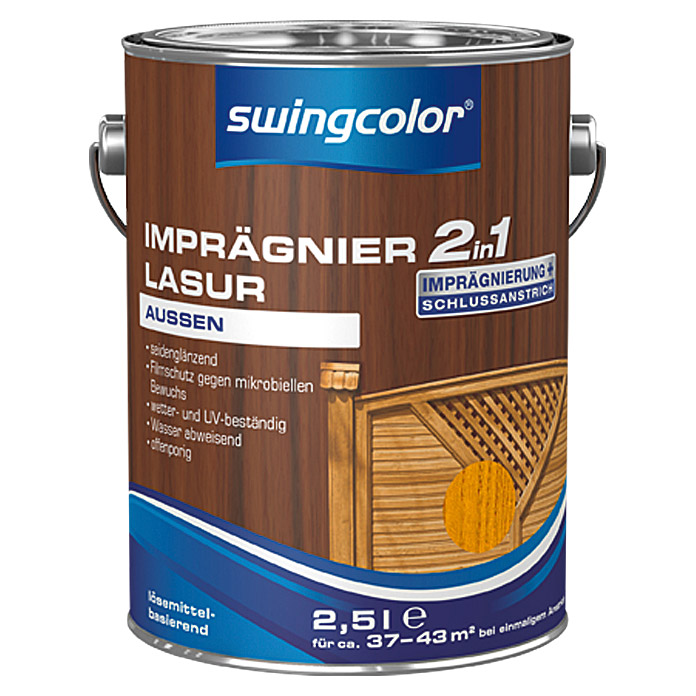 IMPRAEGNIERLASUR LB 2IN1 2,5 l KIEFER   SWINGCOLOR