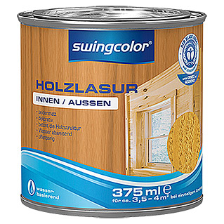 swingcolor Holzlasur (Kiefer, 375 ml, Seidenmatt)