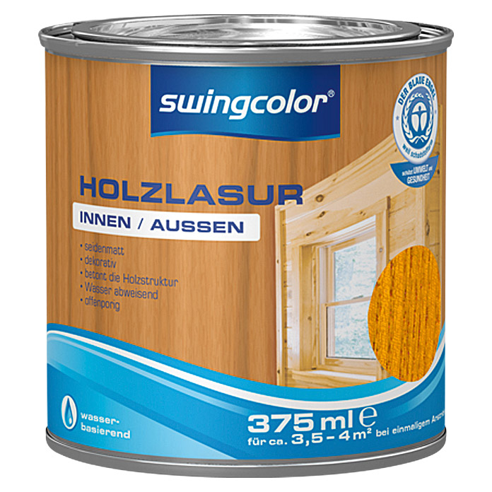 HOLZLASUR WB 375 ml KIRSCHE             SWINGCOLOR