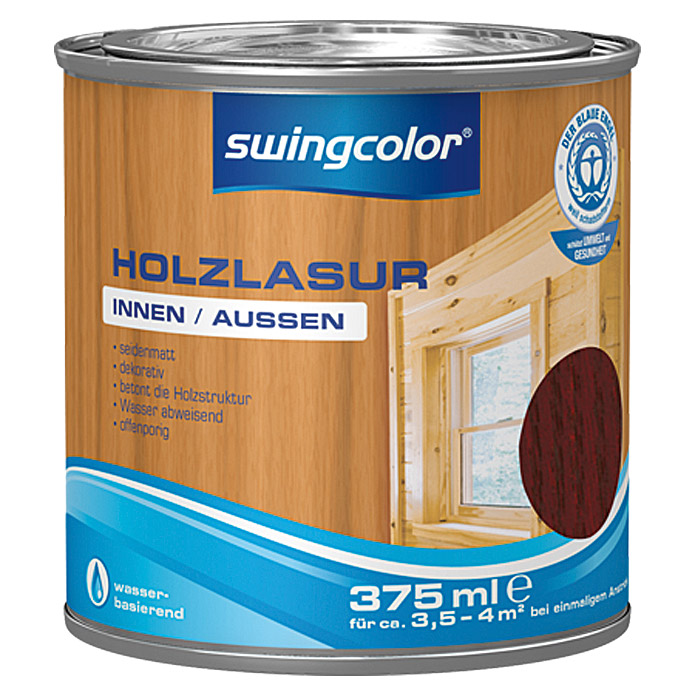 swingcolor Holzlasur  (Palisander, 375 ml)