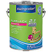 KLARLACK 2 IN 1 WB  2,5 l GLZ FARBLOS  SWINGCOLOR