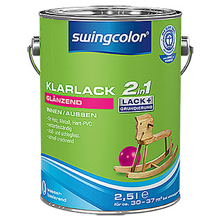 swingcolor 2in1 Klarlack  (2,5 l, Glänzend)