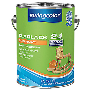 swingcolor 2in1 Klarlack  (2,5 l, Seidenmatt)