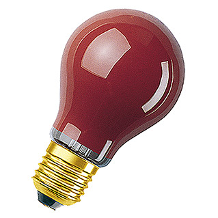 GLUEHLAMPE 11W      ROT E27