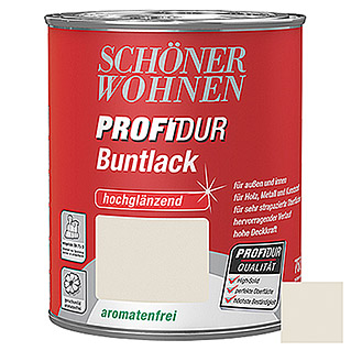 Schöner Wohnen ProfiDur Buntlack  (Cremeweiß, 750 ml)