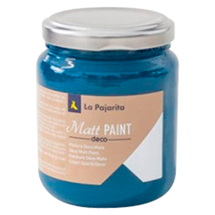 La Pajarita Pintura Matt Paint deep blue 175 ml (Mate)