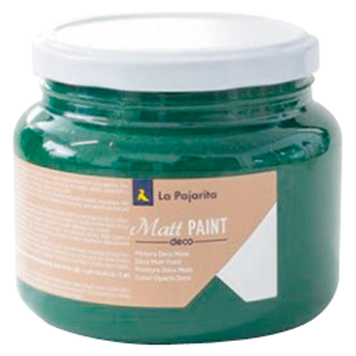 La Pajarita Pintura Matt Paint mister green 500 ml (Mate)