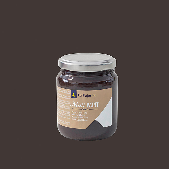 La Pajarita Pintura Matt Paint brown sugar 175 ml (Mate)