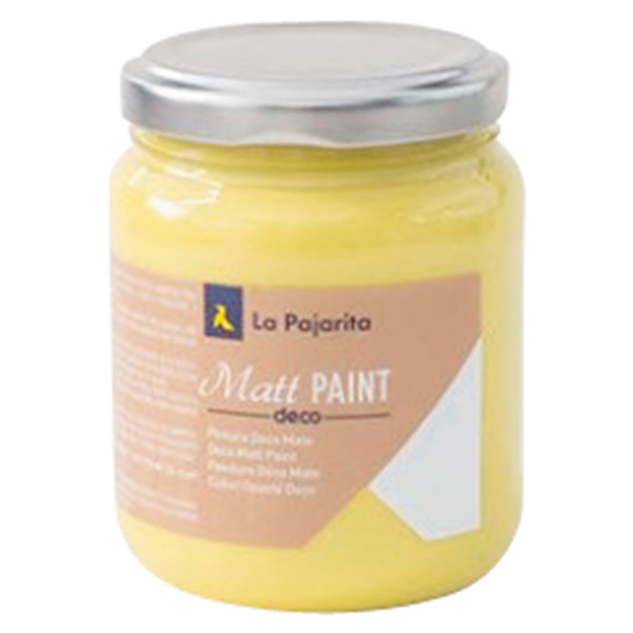 La Pajarita Pintura Matt Paint lemon 175 ml (Mate)