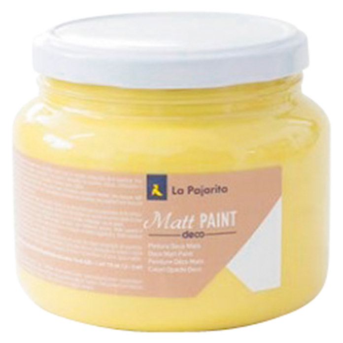 La Pajarita Pintura Matt Paint lemon 500 ml (Mate)