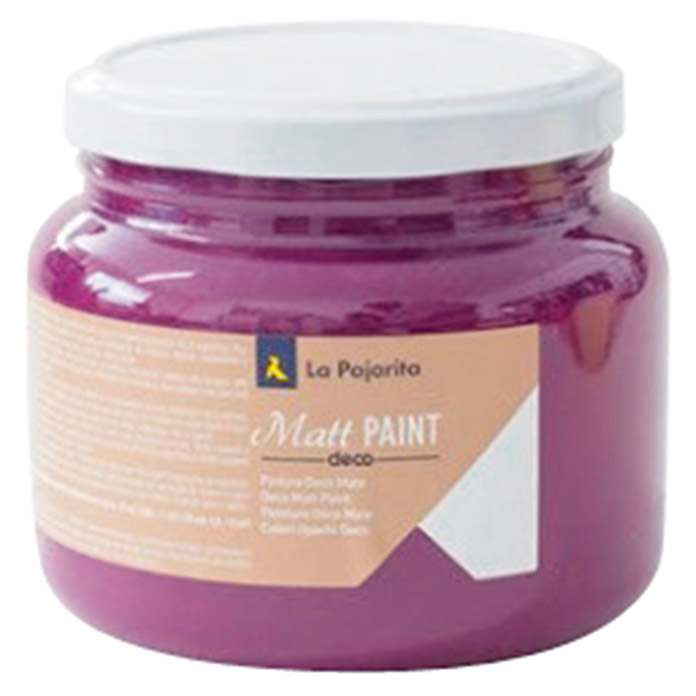 La Pajarita Pintura Matt Paint velvet 500 ml (Mate)
