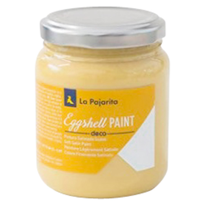 La Pajarita Pintura Eggshell Paint Yellow ochre  (175 ml, Satinado)