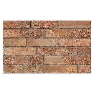 Revestimiento de pared Brickwork (33 x 55 cm, Teja, Mate)