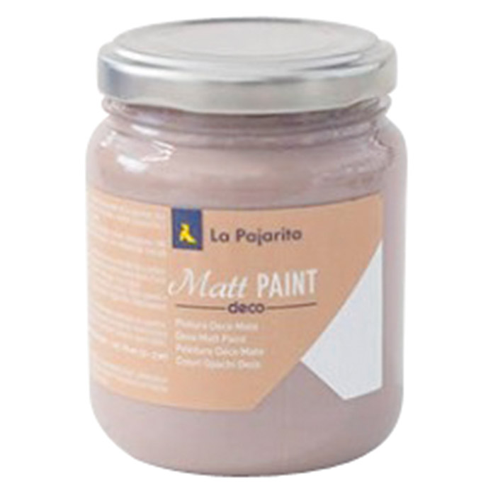 La Pajarita Pintura Matt Paint roasted brown 175 ml (Mate)