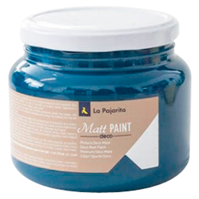 La Pajarita Pintura Matt Paint deep blue (500 ml, Mate)