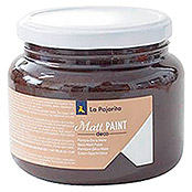 La Pajarita Pintura Matt Paint Brown sugar (500 ml, Mate)