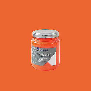 La Pajarita Pintura Fluor Paint Orange (175 ml)