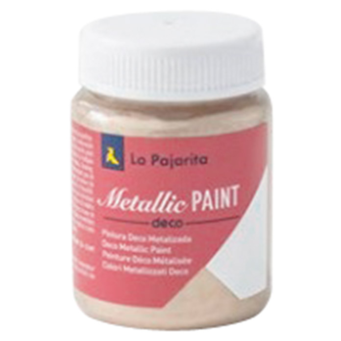 La Pajarita Pintura Metallic Paint champagne (75 ml, Brillante)