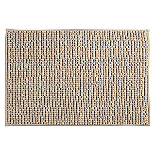 Alfombra para baño Chenille (400 x 600 mm, Taupe)