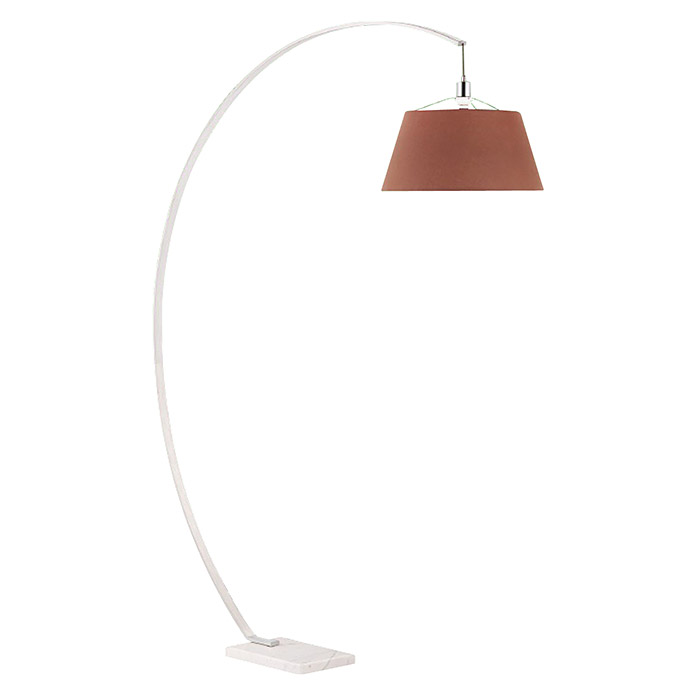 Tween Light Stehleuchte Arco (1-flammig, 60 W, Braun, E27, 2,15 m)