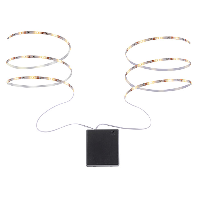 Tween Light LED-Band (Länge: 80 cm, Lichtfarbe: Warmweiß, 1,8 W, Batteriebetrieben)