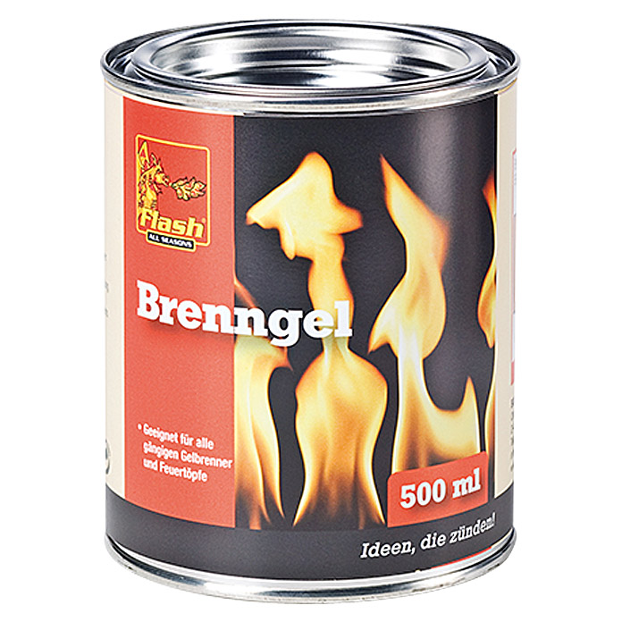 Flash Brenngel  (500 ml)