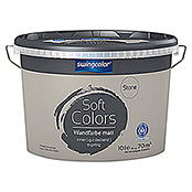 swingcolor Soft Colors Wandfarbe (Stone, 10 l, Matt)