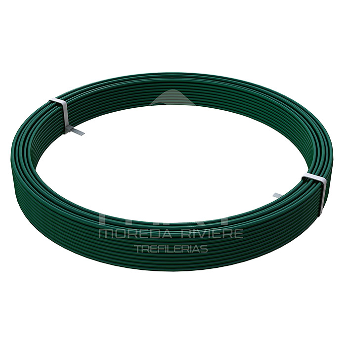 Alambre plastificado (Ø x L: 2,4 mm x 50 m)