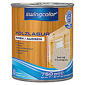swingcolor Holzlasur (Friesengrau, 750 ml, Seidenmatt)