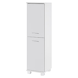 Schildmeyer Lumo Highboard (32,5 x 30,5 x 117 cm, Perlweiß)