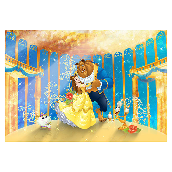 Komar Fototapete Beauty and the Beast (8-tlg., 368 x 254 cm) -