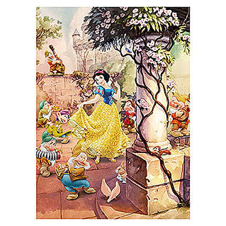 Komar Disney Edition 4 Fototapete Dancing Snow White (4-tlg., 184 x 254 cm)