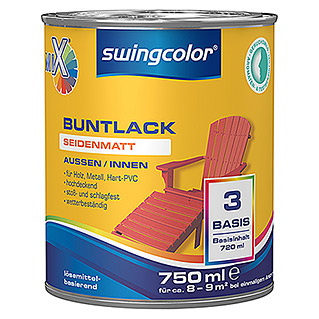 swingcolor Mix Buntlack (750 ml, Seidenmatt)