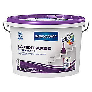 swingcolor Mix Latexfarbe Basis 4 (Basismischfarbe, 10 l, Seidenglänzend)