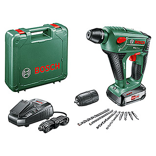 Bosch 18 V Power for All Accuboorhamer Uneo MAXX (18 V, Li-ion, 2,5 Ah, 1 accu, Slagkracht enkele slag: 0,6 J)