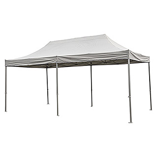 Faltpavillon Easy Up (3 x 6 x 3,4 m, Grau)