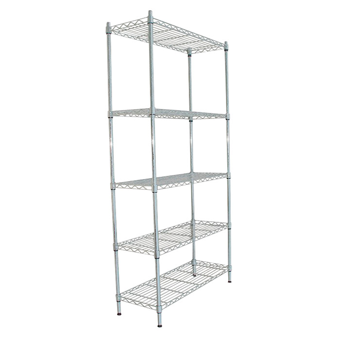 Estanter a met lica stylo altura 190 cm n mero de for Estanteria metalica bano