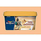 Bruguer Pintura para pared y techo Colores del mundo Egipto ocre natural (4 l, Mate)