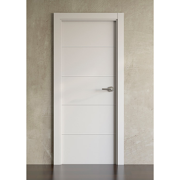 puerta interior medium ranurado lacado blanco 72 5 x 203