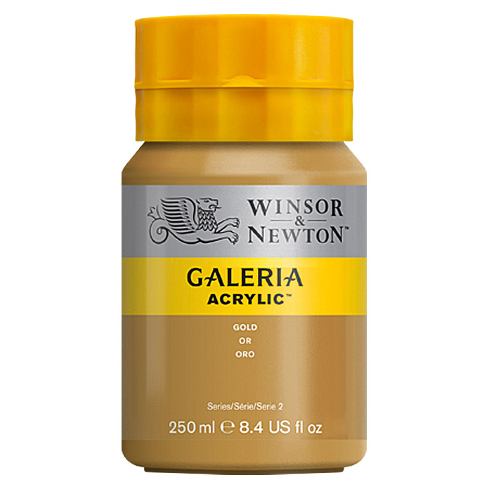 Winsor & Newton Galeria Acrylfarbe  (Gold, 250 ml)