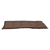 Sunfun Exclusive-Line Bankauflage (Taupe, 100 % Polyester, Länge: 110 cm)