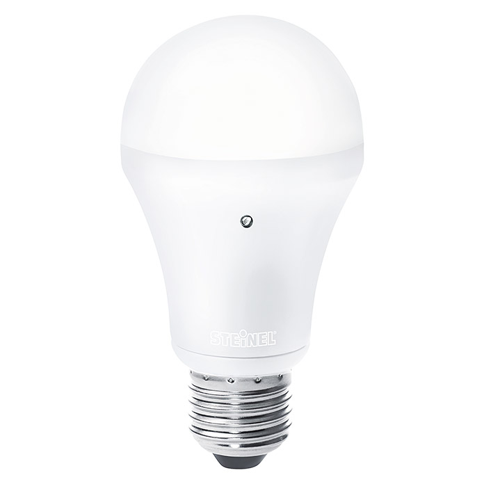 Steinel LED-Leuchtmittel Sensor Light LED  (8,5 W, E27, Warmweiß, Helligkeitssensor)