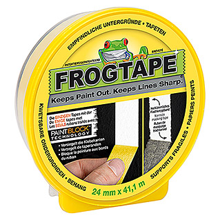 Frogtape Delicate Surface (41,1 m x 24 mm, Gelb)