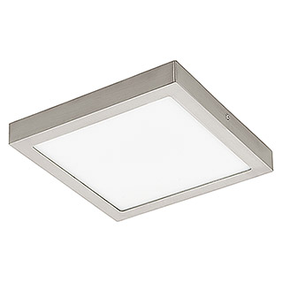 Eglo Connect LED-Deckenleuchte Fueva-C (21 W, Nickel matt, L x B x H: 30 x 30 x 4 cm)