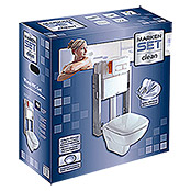 WAND-WC SET CLEAN TIEFSPUELER MARKE